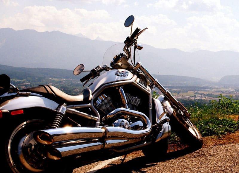 Glæden ved at køre på motorcykel