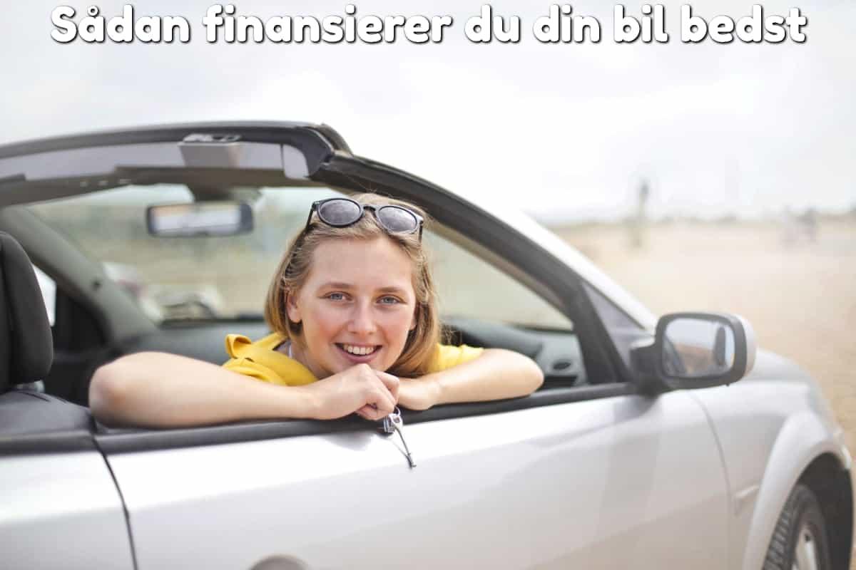 Sådan finansierer du din bil bedst